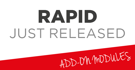 RAPID FR JUST RELEASED 1/2019
